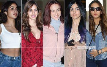 STUNNER OR BUMMER: Janhvi Kapoor, Disha Patani, Elli AvrRam, Adah Sharma Or Huma Qureshi?