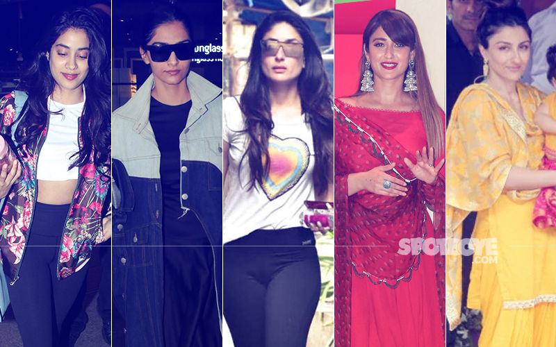 STUNNER OR BUMMER: Janhvi Kapoor, Sonam Kapoor, Kareena Kapoor, Ileana D'Cruz Or Soha Ali Khan?