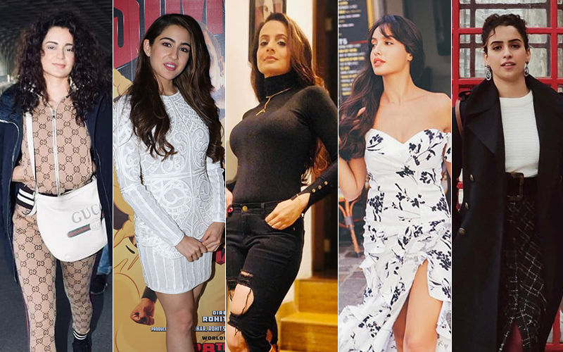 STUNNER OR BUMMER: Kangana Ranaut, Sara Ali Khan, Ameesha Patel, Nora Fatehi OR Sanya Malhotra?