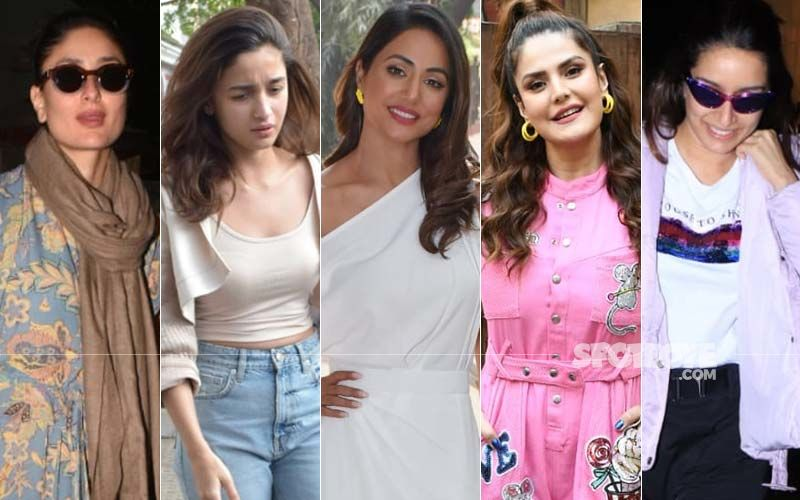 STUNNER OR BUMMER: Kareena Kapoor Khan, Alia Bhatt, Hina Khan, Zareen Khan Or Shraddha Kapoor?