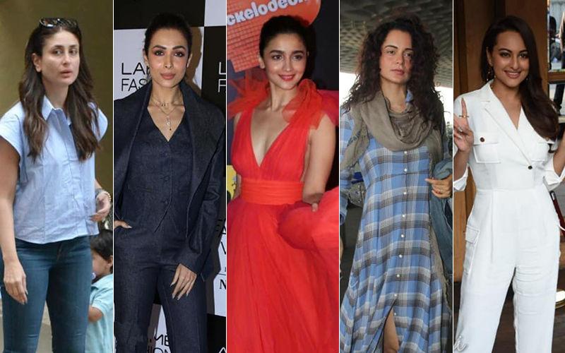 STUNNER OR BUMMER: Kareena Kapoor Khan, Malaika Arora, Alia Bhatt, Kangana Ranaut Or Sonakshi Sinha?
