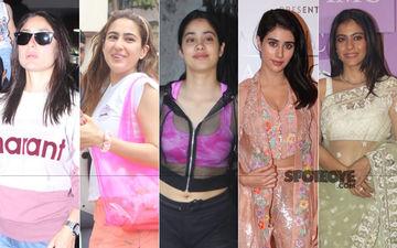 STUNNER OR BUMMER: Kareena Kapoor Khan, Sara Ali Khan, Janhvi Kapoor, Warina Hussain Or Kajol?