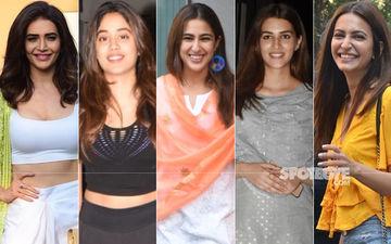 STUNNER OR BUMMER: Karishma Tanna, Janhvi Kapoor, Sara Ali Khan, Kriti Sanon Or Kriti Kharbanda?