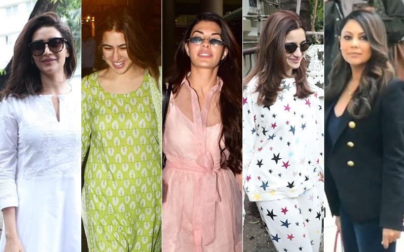 STUNNER OR BUMMER:  Karishma Tanna, Sara Ali Khan, Jacqueline Fernandez, Alia Bhatt Or Gauri Khan?