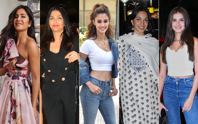 STUNNER OR BUMMER: Katrina Kaif, Aishwarya Rai Bachchan, Disha Patani, Kiara Advani Or Tara Sutaria?