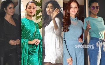 STUNNER OR BUMMER: Katrina Kaif, Alia Bhatt, Janhvi Kapoor, Vedhika Kumar Or Sunny Leone?