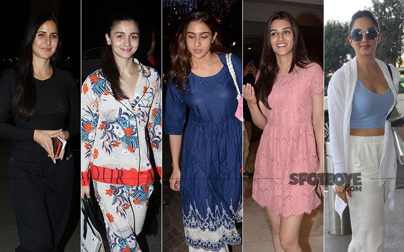 STUNNER OR BUMMER: Katrina Kaif, Alia Bhatt, Sara Ali Khan, Kriti Sanon OR Kiara Advani?
