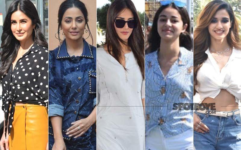 STUNNER OR BUMMER: Katrina Kaif, Hina Khan, Vaani Kapoor, Ananya Panday Or Disha Patani?