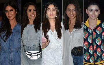 STUNNER OR BUMMER: Katrina Kaif, Nushrat Bharucha, Janhvi Kapoor, Rakul Preet Singh Or Urvashi Rautela?