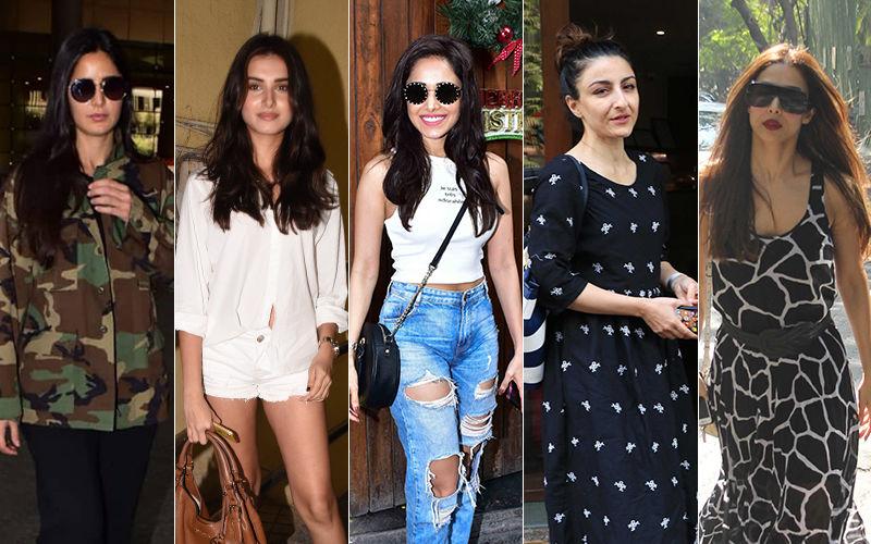 STUNNER OR BUMMER: Katrina Kaif, Tara Sutaria, Nushrat Bharucha, Soha Ali Khan Or Malaika Arora?