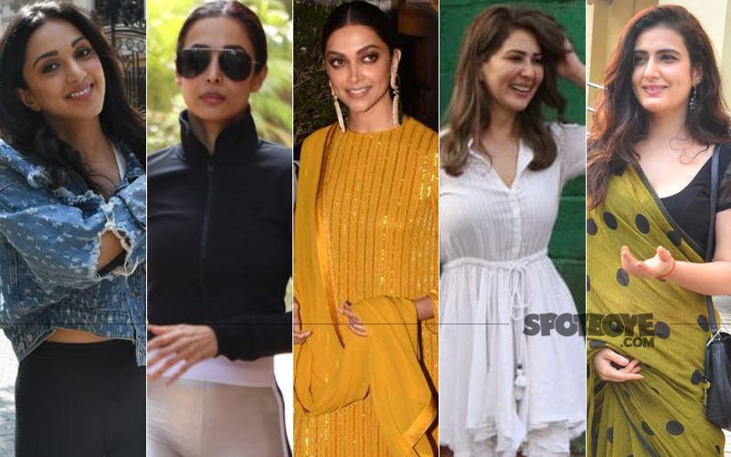 STUNNER OR BUMMER: Kiara Advani, Malaika Arora, Deepika Padukone, Kim Sharma Or Fatima Sana Shaikh?