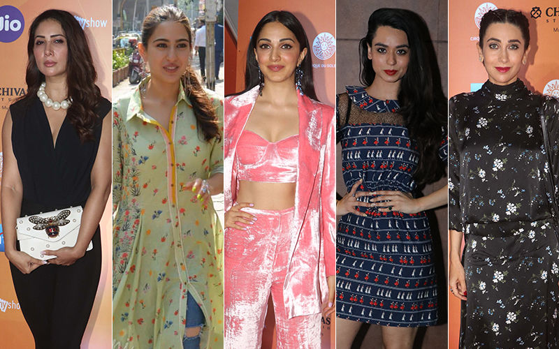 STUNNER OR BUMMER: Kim Sharma, Sara Ali Khan, Kiara Advani, Soundarya Sharma Or Karisma Kapoor?