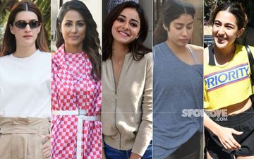 STUNNER OR BUMMER: Kriti Sanon, Hina Khan, Ananya Panday, Janhvi Kapoor Or Sara Ali Khan?