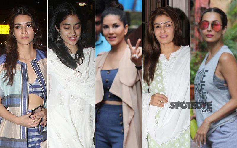 STUNNER OR BUMMER: Kriti Sanon, Janhvi Kapoor, Sunny Leone, Raveena Tandon Or Malaika Arora?