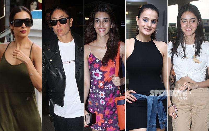 STUNNER OR BUMMER: Malaika Arora, Kareena Kapoor Khan, Kriti Sanon, Ameesha Patel Or Ananya Panday?