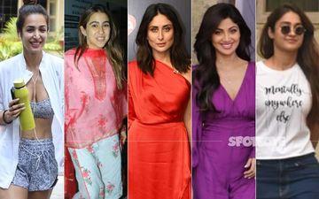 STUNNER OR BUMMER: Malaika Arora, Sara Ali Khan, Kareena Kapoor Khan, Shilpa Shetty Or Ileana D'Cruz?