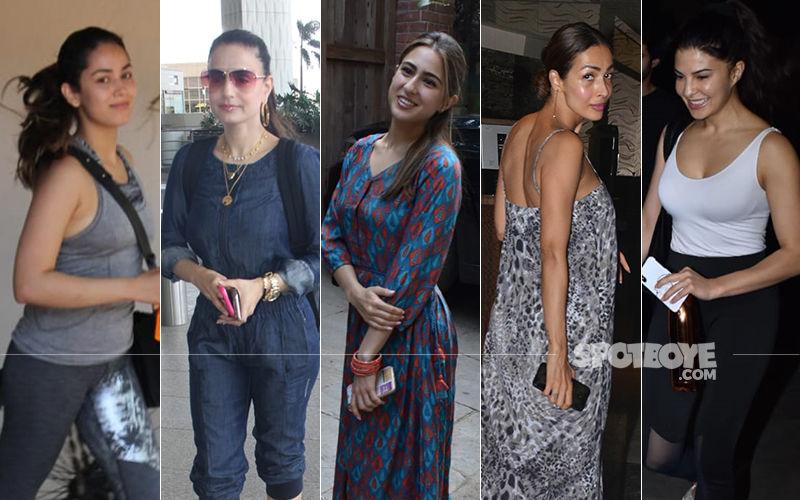 STUNNER OR BUMMER: Mira Rajput, Ameesha Patel, Sara Ali Khan, Malaika Arora Or Jacqueline Fernandez?