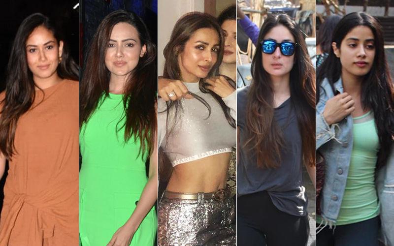 STUNNER OR BUMMER: Mira Rajput, Kareena Kapoor, Malaika Arora, Sana Khan Or Janhvi Kapoor?