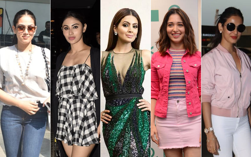 STUNNER OR BUMMER: Mira Rajput, Mouni Roy, Geeta Basra, Tamannaah Bhatia Or Sonal Chauhan?