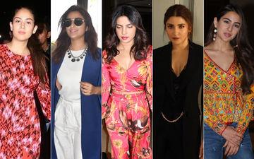 STUNNER OR BUMMER: Mira Rajput, Parineeti Chopra, Priyanka Chopra, Anushka Sharma Or Sara Ali Khan?
