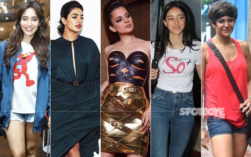 STUNNER OR BUMMER: Neha Sharma, Priyanka Chopra, Kangana Ranaut, Ananya Panday Or Mandira Bedi?