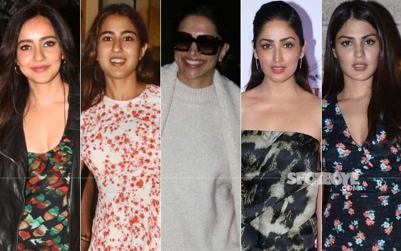 STUNNER OR BUMMER: Neha Sharma, Sara Ali Khan, Deepika Padukone, Rhea Chakraborty Or Yami Gautam?