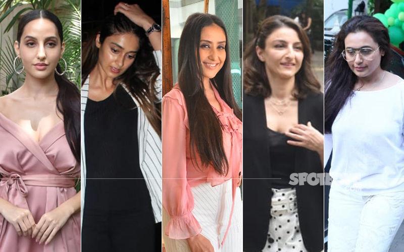STUNNER OR BUMMER: Nora Fatehi, Ileana D'Cruz, Manisha Koirala, Soha Ali Khan Or Rani Mukerji?