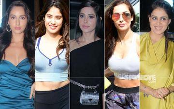 STUNNER OR BUMMER: Nora Fatehi, Janhvi Kapoor, Malaika Arora, Nushrat Bharucha Or Genelia Dsouza?
