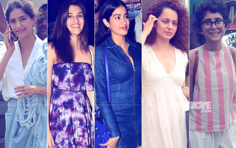 STUNNER OR BUMMER: Sonam Kapoor, Kriti Sanon, Janhvi Kapoor, Kangana Ranaut Or Kiran Rao?
