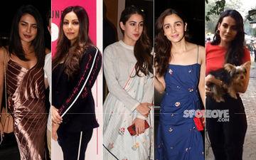 STUNNER OR BUMMER: Priyanka Chopra, Gauri Khan, Sara Ali Khan, Alia Bhatt Or Mandana Karimi?