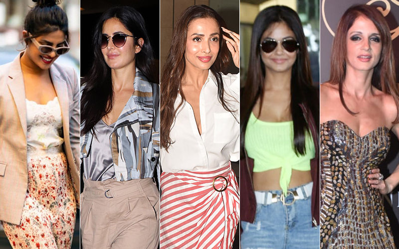 STUNNER OR BUMMER: Priyanka Chopra Jonas, Katrina Kaif, Malaika Arora, Meera Chopra Or  Sussanne Khan?