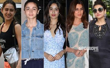 STUNNER OR BUMMER: Sara Ali Khan, Alia Bhatt, Janhvi Kapoor, Kriti Sanon Or Vidya Balan?