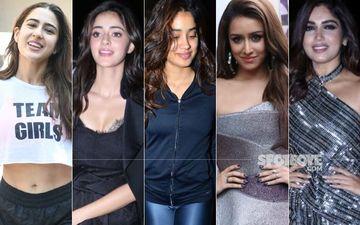 STUNNER OR BUMMER: Sara Ali Khan, Ananya Panday, Janhvi Kapoor, Shraddha Kapoor Or Bhumi Pednekar?