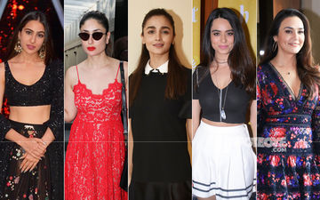 STUNNER OR BUMMER:  Sara Ali Khan, Kareena Kapoor Khan, Alia Bhatt, Soundarya Sharma Or Preity Zinta?