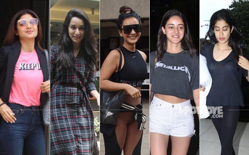 STUNNER OR BUMMER: Shilpa Shetty, Shraddha Kapoor, Patralekhaa, Ananya Panday Or Janhvi Kapoor?