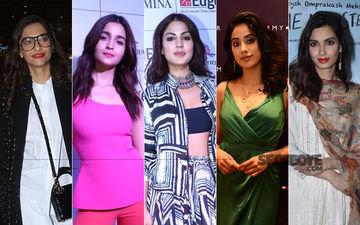 STUNNER OR BUMMER: Sonam Kapoor, Alia Bhatt, Rhea Chakraborty, Janhvi Kapoor Or Diana Penty?