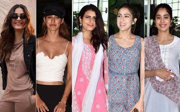 STUNNER OR BUMMER: Sonam Kapoor, Disha Patani, Fatima Sana Shaikh, Sara Ali Khan Or Janhvi Kapoor?
