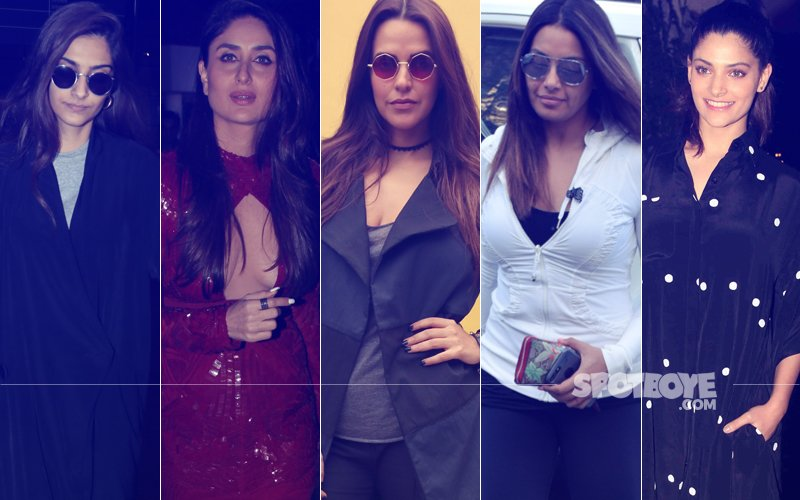 STUNNER OR BUMMER: Sonam Kapoor, Kareena Kapoor, Neha Dhupia, Bipasha Basu Or Saiyami Kher?