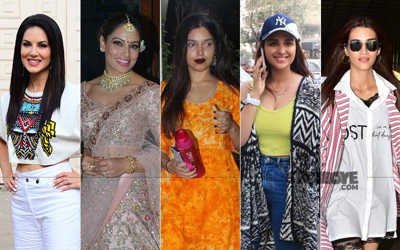 STUNNER OR BUMMER: Sunny Leone, Bipasha Basu, Bhumi Pednekar, Parineeti Chopra Or Kriti Sanon?