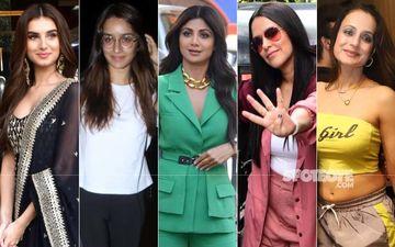 STUNNER OR BUMMER: Tara Sutaria, Shraddha Kapoor, Shilpa Shetty, Neha Dhupia Or Ameesha Patel?
