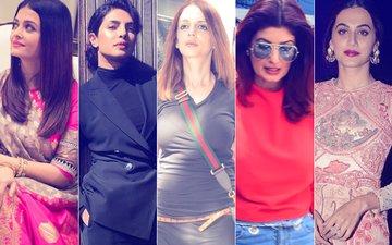 STUNNER OR BUMMER: Aishwarya Rai, Priyanka Chopra, Sussanne Khan, Twinkle Khanna Or Taapsee Pannu?
