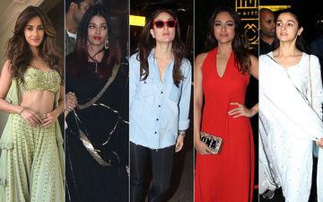 झकास या बकवास: दिशा पटानी, ऐश्वर्या राय बच्चन, करीना कपूर खान, सोनाक्षी सिन्हा और आलिया भट्ट?