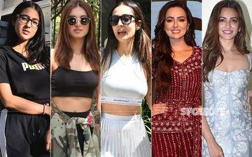STUNNER OR BUMMER: Sara Ali Khan, Tara Sutaria, Malaika Arora, Sana Khan Or Kriti Kharbanda?