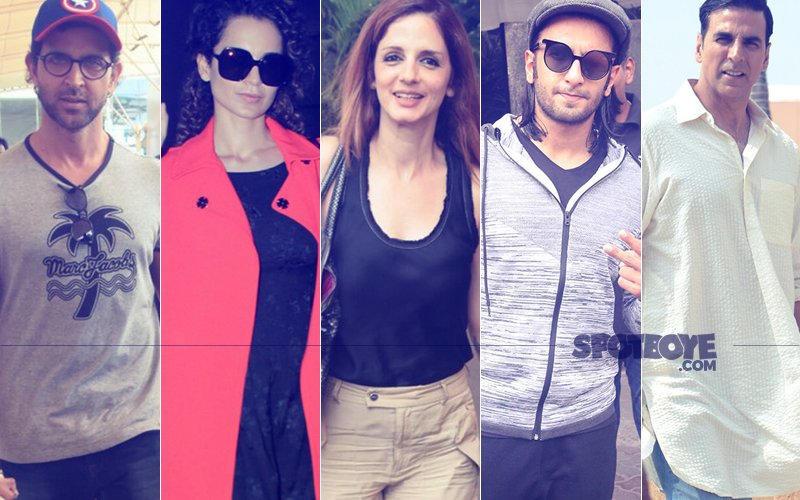 STUNNER OR BUMMER: Hrithik Roshan, Kangana Ranaut, Sussanne Khan, Ranveer Singh Or Akshay Kumar?