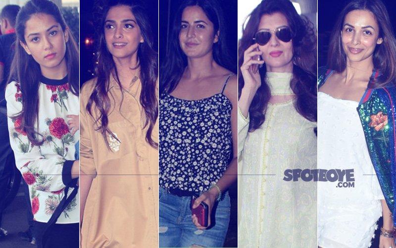 STUNNER OR BUMMER: Mira Rajput, Sonam Kapoor, Katrina Kaif, Sangeeta Bijlani Or Malaika Arora?
