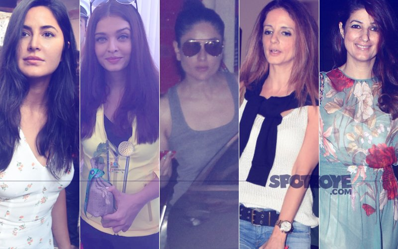 STUNNER OR BUMMER: Katrina Kaif, Aishwarya Rai Bachchan, Kareena Kapoor, Sussanne Khan Or Twinkle Khanna?