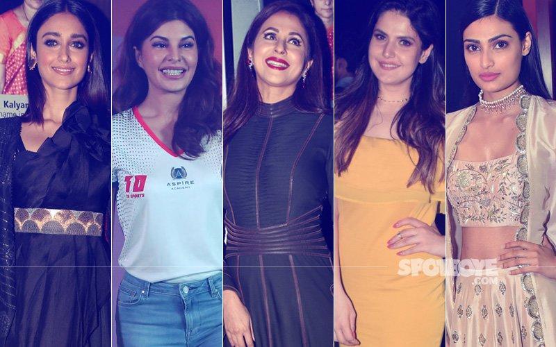 STUNNER OR BUMMER: Ileana D'Cruz, Jacqueline Fernandez, Urmila Matondkar, Zareen Khan Or Athiya Shetty?