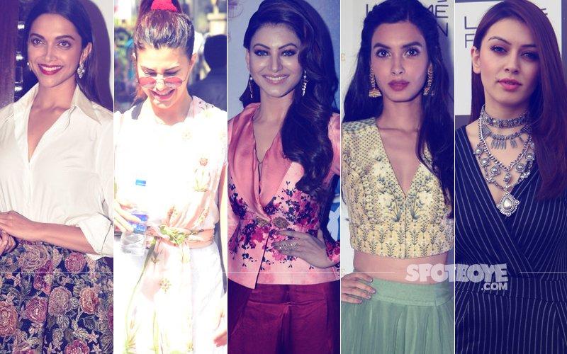 STUNNER OR BUMMER: Deepika Padukone, Jacqueline Fernandez, Urvashi Rautela, Diana Penty Or Hansika Motwani?