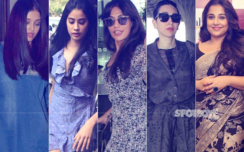 STUNNER OR BUMMER: Aishwarya Rai Bachchan, Jhanvi Kapoor, Chitrangda Singh, Karisma Kapoor Or Vidya Balan?
