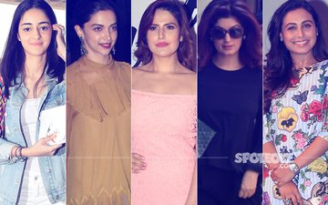 STUNNER OR BUMMER: Ananya Pandey, Deepika Padukone, Zareen Khan, Twinkle Khanna Or Rani Mukerji?